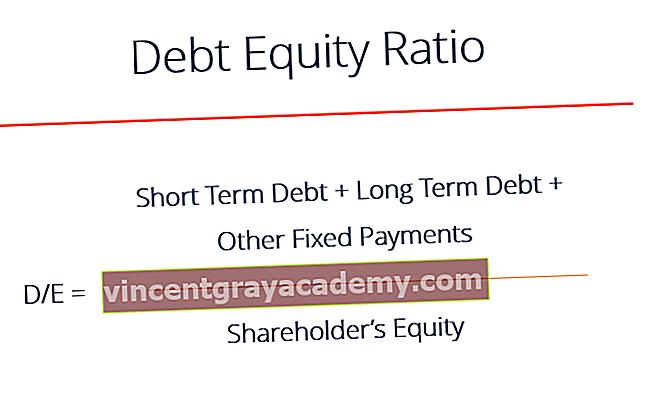 Kakšno je razmerje med dolgom in lastniškim kapitalom?
