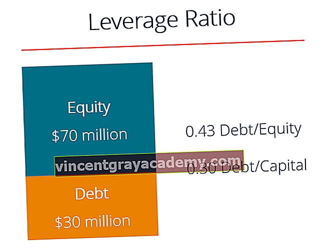 Kakšna so razmerja finančnega vzvoda?