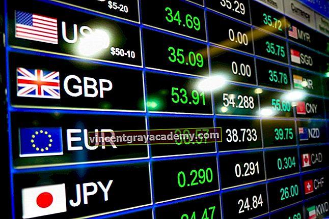 Hva er utenlandsk valuta?