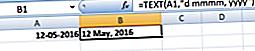 Kaj je funkcija Excel TEXT?
