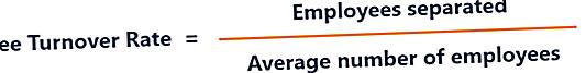 Hva er ansattes omsetningsgrad?