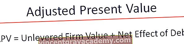 APV (조정 된 현재 가치)는 무엇입니까?