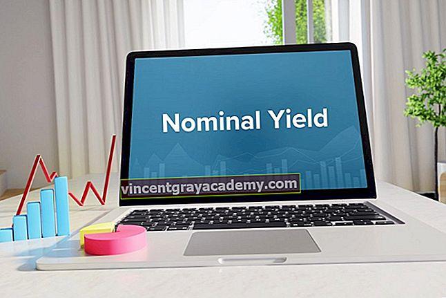 Kaj je nominalni donos?