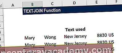 Hva er TEXTJOIN-funksjonen?