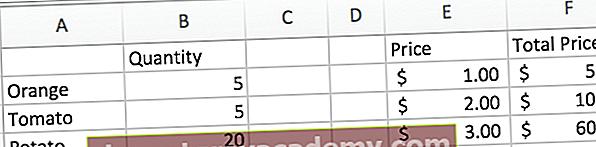 Excel hurtigtaster
