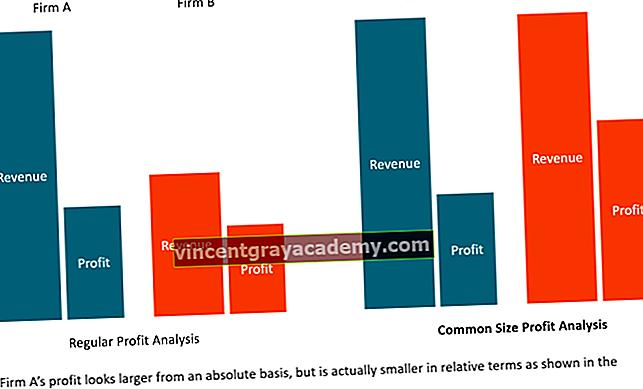 Hva er vanlig størrelsesanalyse?