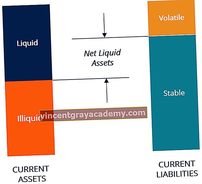 Hva er netto likvide midler?