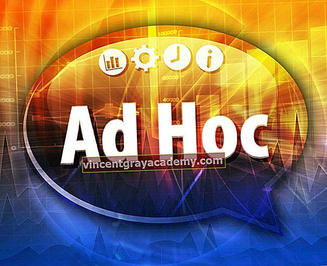 """Čo znamená výraz """"ad hoc""""; Zlý?"""