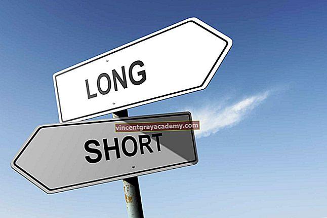 Poziții lungi și scurte