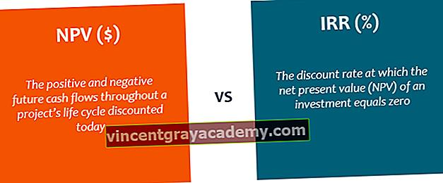 Mi az NPV vs IRR?