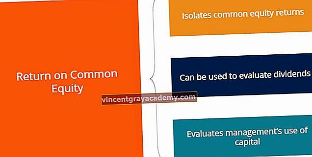 Hva er avkastning på felles aksjer?